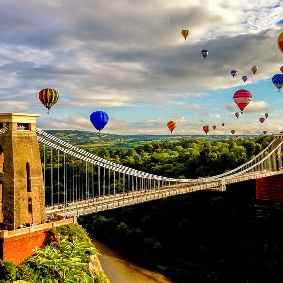 Bristol. Cool city!